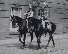 Wilhelm II, Emperor of Germany and King of Prussia; King George V, by Unknown photographer - NPG x194029