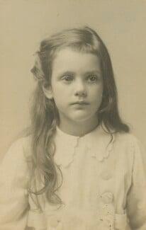 Ursula Margaret Wentzel (née Strachey), by Unknown photographer, 1918 - NPG Ax160847 - © National Portrait Gallery, London