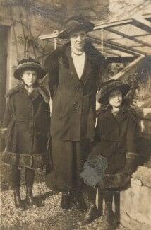 Barbara Strachey; Miss Prynne; Ursula Margaret Wentzel (née Strachey), by Unknown photographer - NPG Ax160852