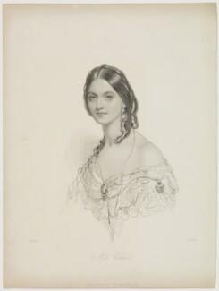 Louisa Frances Alice Coupland (née Calder), by William Henry Mote, published by  David Bogue, after  John Hayter - NPG D42975