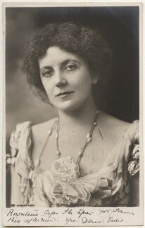 Lena Ashwell (née Lena Margaret Pocock, later Lady Simson), by Bassano Ltd - NPG x193608