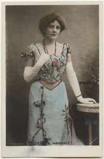 Lena Ashwell (née Lena Margaret Pocock, later Lady Simson), by Bassano Ltd, published by  Rotary Photographic Co Ltd - NPG x193609