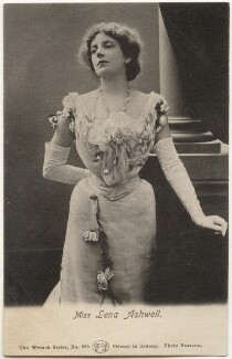 Lena Ashwell (née Lena Margaret Pocock, later Lady Simson), by Bassano Ltd - NPG x193610