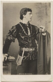 Frank Benson as 'Romeo' in 'Romeo and Juliet', by Bassano Ltd, published by  Raphael Tuck & Sons - NPG x193628
