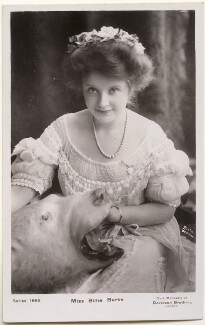 Billie Burke, by Bassano Ltd, published by  Davidson Brothers - NPG x193645