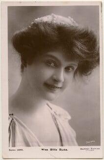 Billie Burke, by Bassano Ltd, published by  Davidson Brothers - NPG x193656