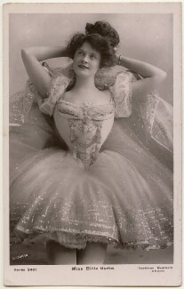 Billie Burke in in The Belle of Mayfair, by Bassano Ltd, published by  Davidson Brothers - NPG x193659