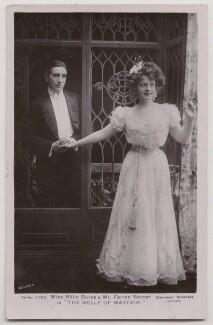 (Joseph) Farren Soutar and Billie Burke in 'The Belle of Mayfair', by Bassano Ltd, published by  Davidson Brothers - NPG x193670
