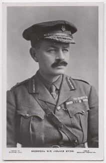 Julian Byng, 1st Viscount Byng of Vimy, by Bassano Ltd, published by  J. Beagles & Co - NPG x193673