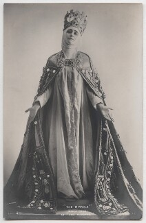Maria Carmi (Princess Norina Matchabelli) as The Madonna in 'The Miracle', by Bassano Ltd, published by  Rotary Photographic Co Ltd - NPG x193674