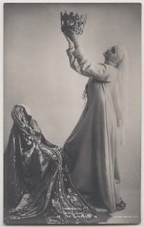 Maria Carmi (Princess Norina Matchabelli) as The Madonna in 'The Miracle', by Bassano Ltd, published by  Rotary Photographic Co Ltd - NPG x193675