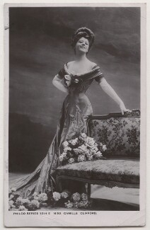 Camille Clifford (Camilla Antoinette Clifford), by Bassano Ltd, published by  The Philco Publishing Co - NPG x193683