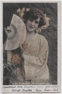 Florence Eliza Collingbourne, by Bassano Ltd, published by  Raphael Tuck & Sons - NPG x193686