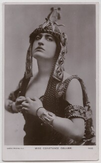 Constance Collier as Cleopatra in 'Antony and Cleopatra', by Bassano Ltd, published by  Rapid Photo Co - NPG x193689