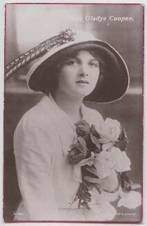 Dame Gladys Cooper, by Bassano Ltd - NPG x193699