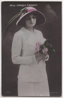 Dame Gladys Cooper, by Bassano Ltd - NPG x193700