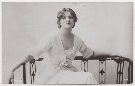 Dame Gladys Cooper, by Bassano Ltd, published by  Rotary Photographic Co Ltd - NPG x193702