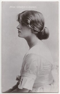 Dame Gladys Cooper, by Bassano Ltd, published by  Rotary Photographic Co Ltd - NPG x193705