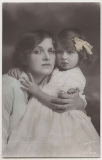 Dame Gladys Cooper; Joan Morley (née Buckmaster), by Bassano Ltd, published by  Rotary Photographic Co Ltd - NPG x193706