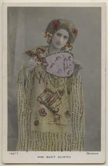 Marie Dainton as Mrs Pineapple in 'A Chinese Honeymoon', by Bassano Ltd - NPG x193713