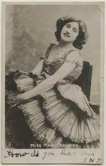 Marie Dainton, by Bassano Ltd, published by  Raphael Tuck & Sons - NPG x193714