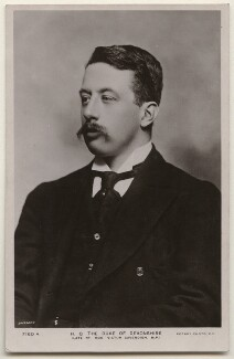 Victor Christian William Cavendish, 9th Duke of Devonshire, by Bassano Ltd, published by  Rotary Photographic Co Ltd - NPG x193806