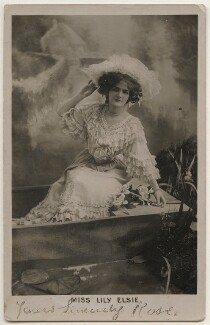 Lily Elsie (Mrs Bullough), by Bassano Ltd - NPG x193809