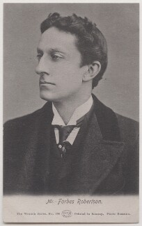 Sir Johnston Forbes-Robertson, by Bassano Ltd, published by  E. Wrench - NPG x193821