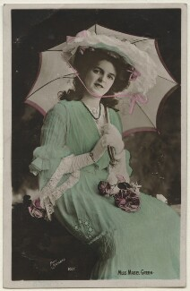 Mabel Green (Mabel Gladys Coomber), by Bassano Ltd, published by  The Rotophot Postcard - NPG x193847