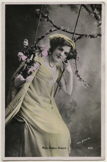 Mabel Green (Mabel Gladys Coomber), by Bassano Ltd, published by  The Rotophot Postcard - NPG x193852