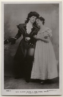 Clarice Mayne and Mabel Green in 'Humpty Dumpty', by Bassano Ltd, published by  Rotary Photographic Co Ltd - NPG x193853