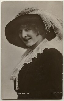 Iris Hoey, by Bassano Ltd - NPG x193863
