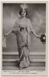 Daisy Irving as Angèle Didier in 'The Count of Luxembourg', by Bassano Ltd, published by  Rotary Photographic Co Ltd - NPG x193868