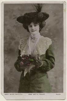 Gertie Millar, by Bassano Ltd, published by  Rotary Photographic Co Ltd - NPG x193956
