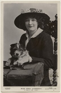 Mary O'Farrell, by Bassano Ltd, published by  J. Beagles & Co - NPG x193969