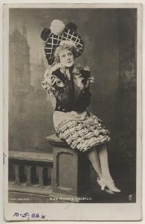 Minnie Palmer, by Bassano Ltd, published by  Raphael Tuck & Sons - NPG x193971