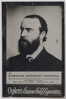 Charles Stewart Parnell, published by Ogden's - NPG x197005