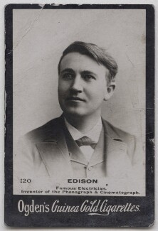 Thomas Alva Edison, published by Ogden's - NPG x197007