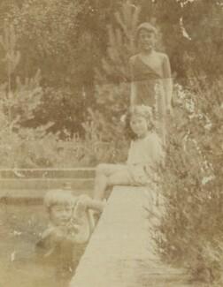 Herbert Fisher; Barbara Strachey; Charles Villiers, by Unknown photographer - NPG Ax160862
