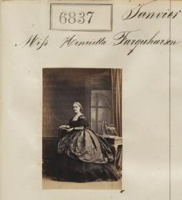 Henrietta Dundas Farquharson, by Camille Silvy - NPG Ax56760