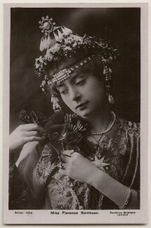 Florence Smithson as Chandra Nil in 'Blue Moon', by Bassano Ltd, published by  Davidson Brothers - NPG x198032
