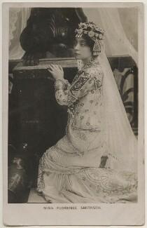 Florence Smithson, by Bassano Ltd, published by  Davidson Brothers - NPG x198033
