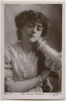 Florence Smithson, by Bassano Ltd, published by  Davidson Brothers - NPG x198035