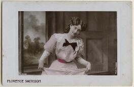 Florence Smithson, by Bassano Ltd, published by  Aristophot Co Ltd - NPG x198036