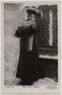 Doris Stocker, by Bassano Ltd, published by  Davidson Brothers - NPG x198042