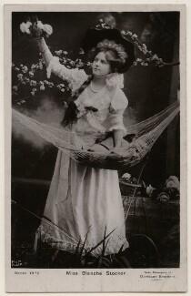 Blanche Stocker, by Bassano Ltd, published by  Davidson Brothers - NPG x198044