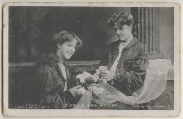 Blanche Stocker; Doris Stocker, by Bassano Ltd - NPG x198045