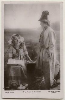 Blanche Stocker; Doris Stocker, by Bassano Ltd, published by  Davidson Brothers - NPG x198046