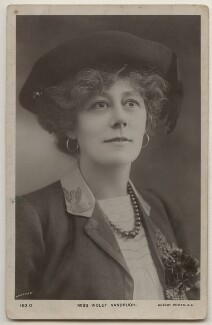 Violet Vanbrugh (Violet Augusta Mary Barnes), by Bassano Ltd, published by  Rotary Photographic Co Ltd - NPG x198059