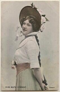 Ruth Vincent, by Bassano Ltd, published by  Millar & Lang Ltd - NPG x198064